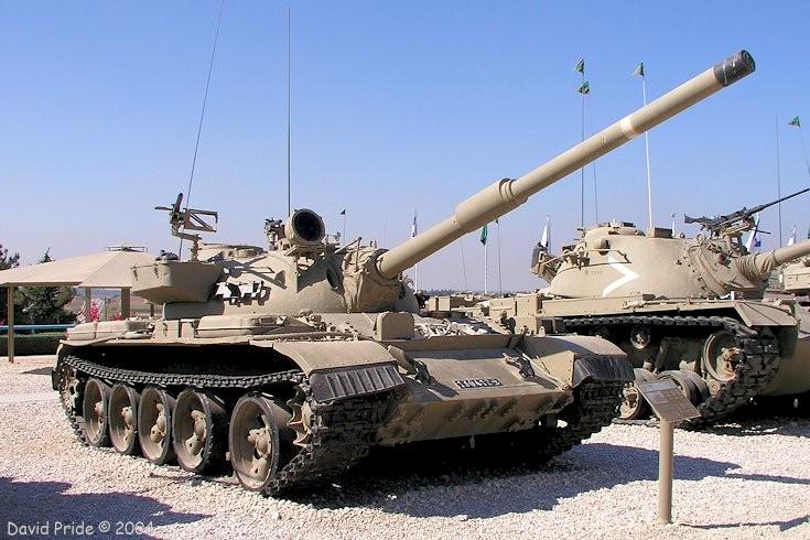 苏联T-54/T-55中型坦克